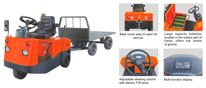 Electric Tow Tractor TCD Series